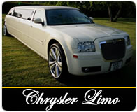 Chrysler 8 seater limo